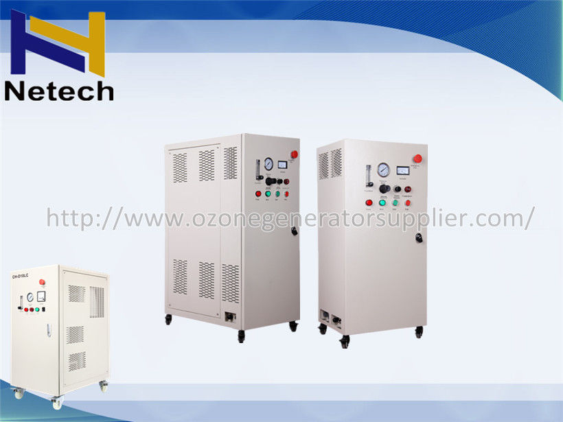 50g Water Cooled Industrial Ozone Generator For Cosmetics Plant Water Purifier